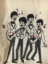 Beatles 1960's Kids Shirt, Vintage And Very Rare, Cartoon Print, Youth Size 12