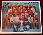 1957 Original Molson Photo Signed x5 Montreal Canadiens Maurice Richard Beliveau