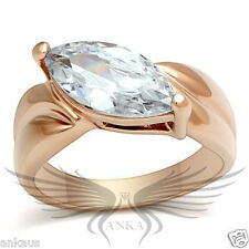 2ct Marquise Cut Cubic Zircon Cz Aaa Engagement Ring Size 5 6 7 8 9 Gl140