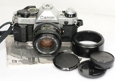 Canon AE-1 Program 35mm Camera with Canon FD 50mm lens (7301BL)