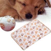 doux chat chien chiot chien amortir mat coral velvet toison pet couverture