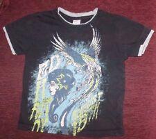 Youth Kid's 5 6 Ed Hardy Black 100% Cotton Permanent Beauty Tee Shirt
