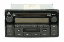 2002-2004 Toyota Camry AM FM Radio CD Cassette Player PN 86120-AA040 Face 16823