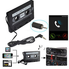 Useful New Car Tape Cassette To 3.5mm AUX Audio Adapter For iPod Video/MP3/MP4