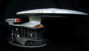 acrylic display stand for Diamond Select Star Trek Enterprise 1701-D variants