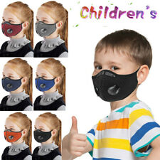 Children Kids Outdoor Face Mask Air Purifying Respirator Mask Washable Reusable