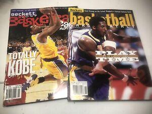 Beckett Basketball Card Monthly Kobe Bryant May 1998 & November 1999 Issues, Lot