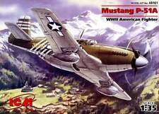 P 51 A MUSTANG (USAAF FAR EAST MARKINGS) 1/48 ICM