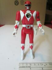 Bandai Power Rangers Red Ranger Flip Head Dated 1993 Loose without Attachments