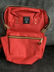 Anello Japanese Authentic RED Backpack Bag Rucksack