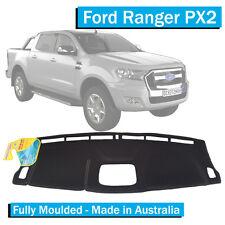 Ford Ranger PX 2 (2015-Current) - Dash Mat - Black - Fully Moulded-XL XLS 11