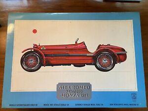 Pocher 1/8 scale Alfa Romeo 8C-2300 Monza 1931 model kit Factory Sealed