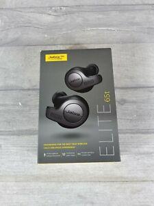 Jabra Elite 65t Bluetooth Ohrhörer-Titan Schwarz