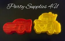 Disney Cars plastic cutters. Mater/McQueen/Biscuits/fondant/cookies/party/baking