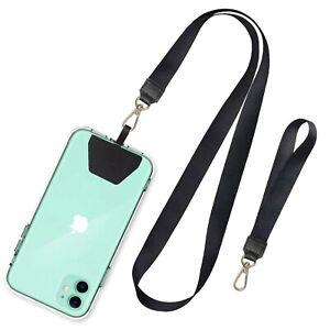 SHANSHUI Phone Lanyard, Neck Strap and Wrist Tether Key Chain Holder Universa...