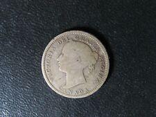10 cents 1894 Obv. 6 Canada small silver coin Queen Victoria c ¢ dime G-6