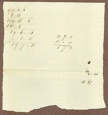 Early American Manuscript Document, May 25, 1799, Connecticut