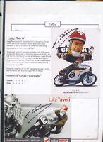 565195 / Motorrad Beleg Autogramm Taveri