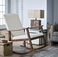 Rocking Chairs For Living Room Nursery Rocker Adults Indoor Reading Baby Birch