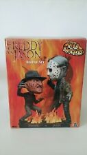 Neca Freddy Vs Jason Extreme Head Knockers 2005 Friday the 13th Nightmare Elm St