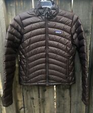 Womens PATAGONIA Down Sweater Dark Brown MED $229