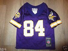Randy Moss #84 Minnesota Vikings Reebok NFL Jersey Toddler 2T Rookie