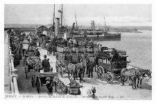 rp14105 - Ferries arrive St Helier , Jersey - photo 6x4
