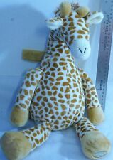 """fr- STUFFED 18"""" GIRAFFE SOFT AND CUDDLY HANGING TAB GENTLY USED PLAY OR COLLECT"""
