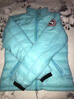Mens Canada goose lightweight blue jacket size medium