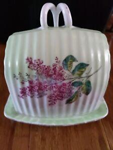 Beautiful butter or cake dish.