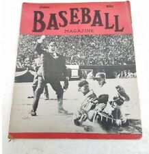 Vintage Baseball Magazine June 1947  Ted Williams Cover
