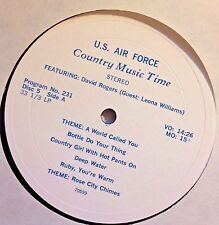 Radio Show:USAF COUNTRY MUSIC TIME #231 DAVID ROGERS & 232 JACK GREEN/J.SEELY