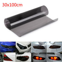 Light Black Car Tail Headlight Wrap Film Tint Cover Gloss Smoke Decoration Sheet