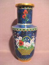 Vase cloisonné Chine époque XX ème siècle
