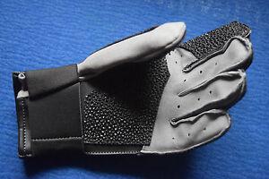 V3 aktive Schießhandschuh TOP 5-Finger Leder NEU  Größe S Linksschütze