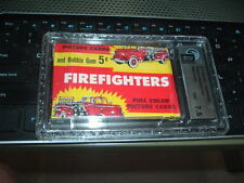 1954 Bowman Firefighters 5 Cent Wax Pack GAI NM+ 7.5 Sealed Unopened