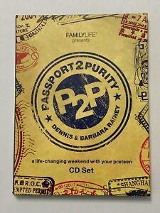 Passport2Purity CD Set 3rd Edition (CD, 2012) FamilyLife P2P [NO Journal] Rainey