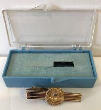 Vintage 10 Year Kaiser Tie Clip 14K CTO 12K GF Anson