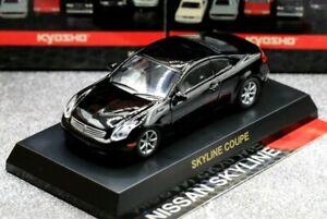Kyosho 1/64 Nissan Skyline Collection Skyline Coupe V35 G35 350GT 2001 Black