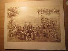 Würzburg - 1882-gruppi immagine con soldati-KB IR 9/foto grande