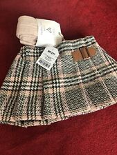 BABY GIRL SKIRT WITH TIGHTS 3-6 MONTHS