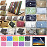 "3in1 Marble Wood Design Matte Hard Case Cover for Retina 12"" Air Pro 11"" 13"" 15"""