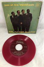 Cal Tjader Quartet Jazz at the Blackhawk EP-4069 Red Vinyl 45RPM Circle Record
