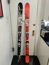High Society Freeride 185cm skis with Maker Griffon Bindings