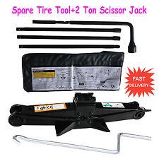 Spare Tire Jack Handle Lug Nut For GMC Chevrolet Cadillac 22969377+Scissor Jack