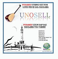 PYRAMID STRING SET FOR TURKISH STRING INSTRUMENT LONG NECK SAZ !!!!!!!!!!!!!!!!