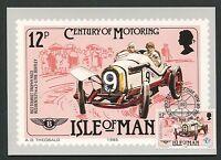 ISLE OF MAN MK 1985 AUTOS CARS BENTLEY MAXIMUMKARTE MAXIMUM CARD MC CM d5146