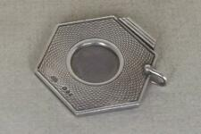More details for a stunning sterling silver hexagon shaped engine turned cigar cutter dates 1977.