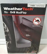 WeatherTech No-Drill MudFlaps for Ford F-150 Reg Supercrew - 2004+ Front Pair