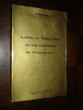 LUNE ET NEPTUNE OU LES MYSTERES DE L'INCONSCIENT - Hadès 1975 - b